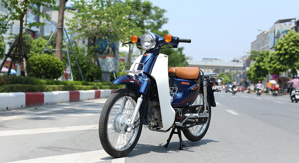 xe Cub 81 Indo xanh