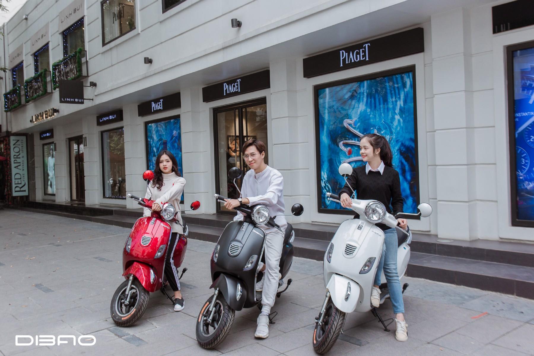 xe máy điện Vespa Dibao 2019