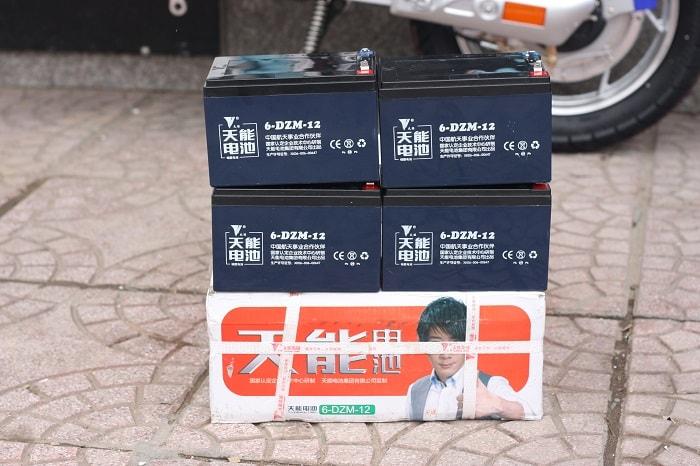 ắc quy xe đạp điện Tianneng 48V - 12Ah