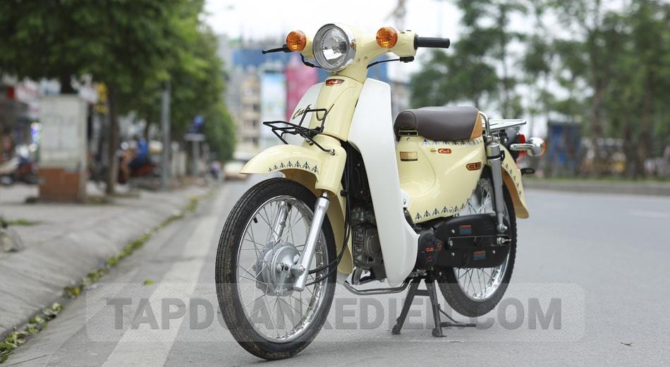 XE CUB 81 JAPAN Màu Kem