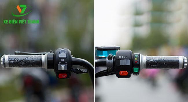 Tay lái thuận tiện cho người dùng