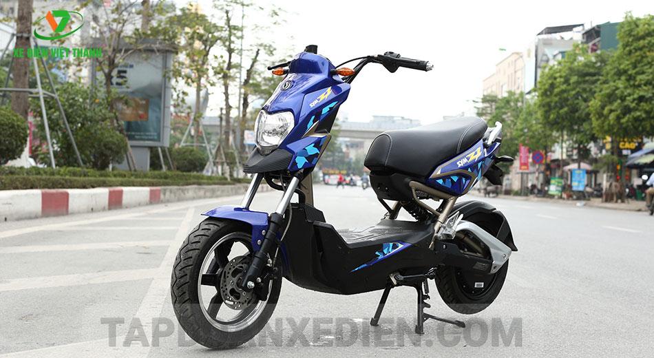 xe máy điện z1 xanh