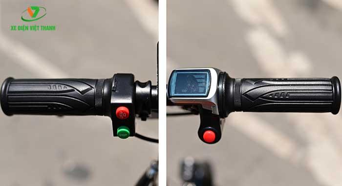 Cụm tay lái tích hợp màn hình LCD
