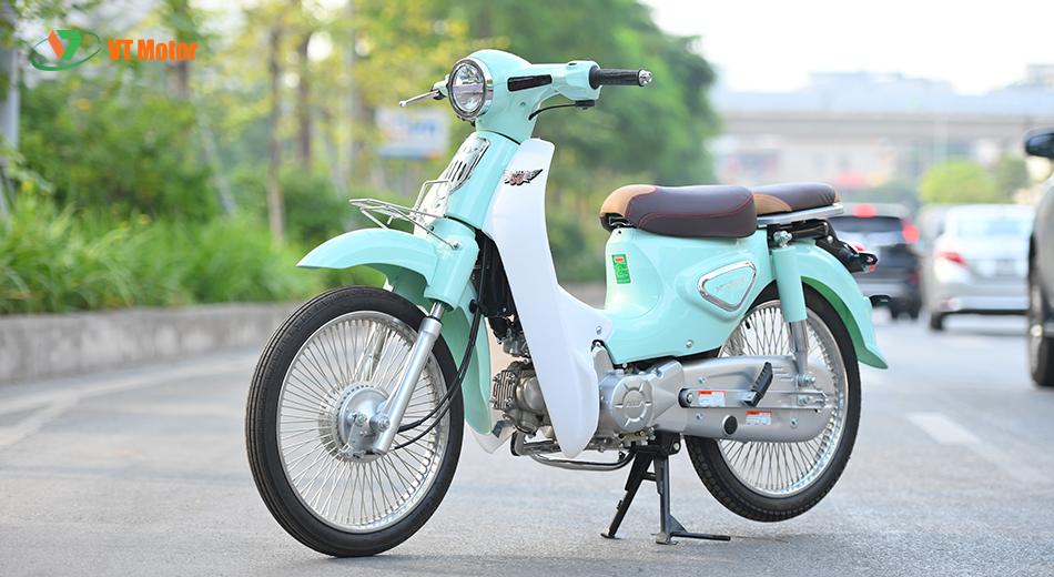 Xe số 50cc được tích hợp những tiện ích đầy đủ và an toàn