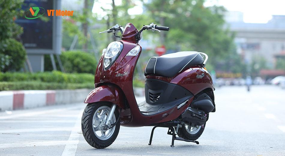Xe ga SYM Elite 50cc - thu hút, luôn cuốn ánh nhìn khách hàng