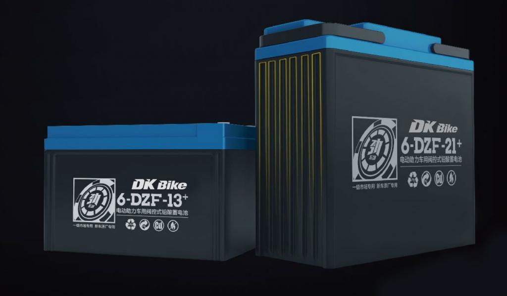 ắc quy xe máy điện DK Bike 48V - 21+Ah
