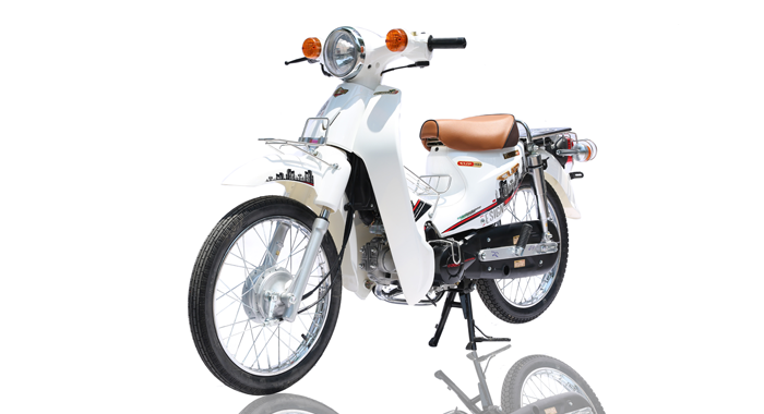 XE CUB 81 INDO TRẮNG