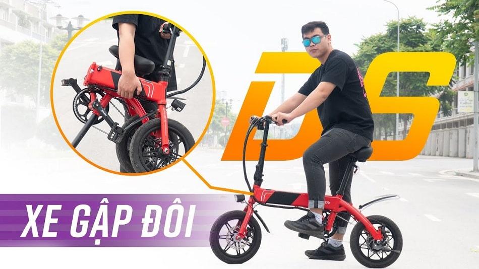 xe đạp điện gấp D6